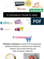 E-Commerce Trends In India