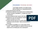 Continuidad de Los Parques - Julio Cortázar