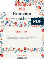 INTELIGENCIA EMOCIONAL EN LAS ORGANIZACIONES (1)