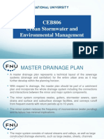 Lec 4_Master Drainage plans and Models in planning