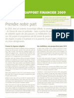 FRF comptes 2009