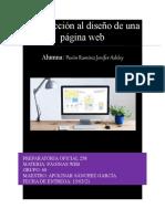 Introducción al diseño de una página web