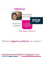 Documento extenso Programa Electoral Municipal Plasencia