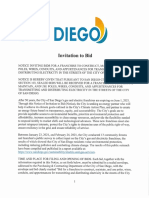 San Diego Franchise Electric Packet