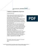 Folha de S.Paulo - Conheça os argumentos do governo - 10_09_2001