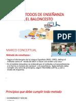 PARTE 1 - (LOS MÉTODOS DE ENSEÑANZA EN EDUCACIÓN FÍSICA Y DEPORTES )