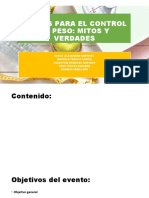 CLAVES PARA EL CONTROL DE PESO