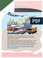 Materi Kelas 3 Tema 7 Subtema 4 Perkembangan Teknologi Transportasi - Websiteedukasi.com