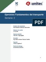 Karl Gutierrez _31121344 _Ejercicios Fundamentos del transporte_Tarea 2.1_S2