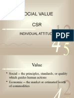 Social,Value,CSR and Individual Attitude Final