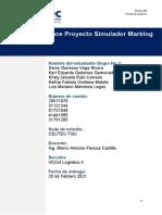 Tarea 5.2_Simulador Marklog_Primer Avance Proyecto Simulador Marklog_Grupo No_3