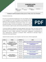 CI GFDE 13 - Formação com Profissionais da Educação de Vitória - 08 a 12 de Fevereiro. (1)