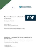 Politiques-développement-Cameroun