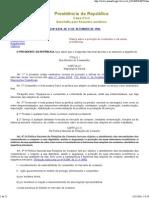 Código de Defesa do Consumidor - Lei nº 8.078 de 1990