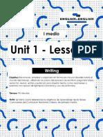 I° medio_lesson 3