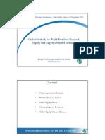 IFA - Global Outlook for World Fertilizer Demand, Supply and SupplyDemand Balances (Apresentação)