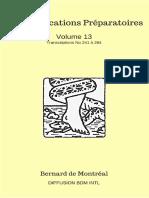 Communications Preparatoires vol 13 - 241 a 264 v2