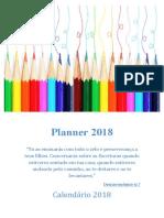 Planner 2018