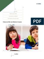 Cómo escribir una fábula en 5 pasos preescolar
