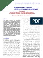Dynamic Buckling Test of Shells