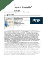 IV Ciclo de Cine - La Familia, Espacio de Acogida - Burgos