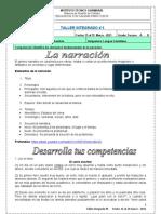#5 LA NARRACIÓN 3 - 2021