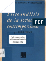 Erich Fromm - Psicoanalisis de la sociedad contemporanea