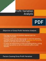 AE 27 Lesson 6 GP Variance Analysis