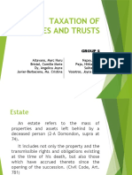{Taxation of Estates and Trusts}