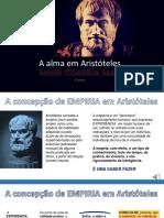 A ALMA EM ARISTÓTELES