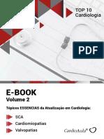 Top 10 Cardiologia Vol 2 -10 artigos exclusivos - E-book CardioAula - Dr Diogenes Alcantara