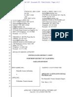 Epic v. Apple - Apple Tentative Witness List
