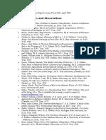 Tolkien bibliography tesis & articles