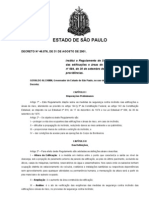 Decreto Estadual Nº 46076