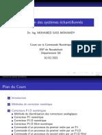Chap_04_Correction des systèmes échantillonnés-١