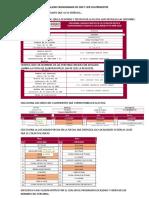 INSTRUCCIONES PARA REALIZAR CRONOGRAMA DE 2DO Y 3ER CUATRIMESTRE
