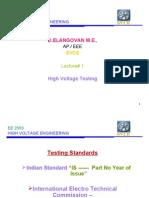 Testing of Insulator