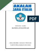 MAKALAH NEGERA ITALIA