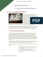 9 outils du controle de gstion