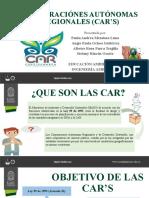 Corporaciones Autónomas Regionales (Car's) (1)