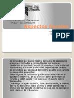 Aspectos fiscales