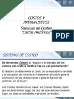 Sistemas de Costeo Histrico 1