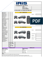 SUV- Vehicle  Delivery & Condition Report