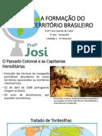 A formaçao do territrio brasileiro 7ano-