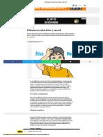 Diferencia Entre Ética y Moral - Escolar - ABC Color