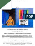 Convenção Sobre Os Direitos Da Criança – Versão Para Crianças e Adolescentes