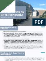 ASPECTOS GEOTECNICOS EN INTERVENTORIA