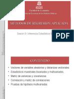 Sesión 6 - Inferencia Multivariada
