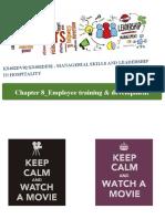 8. Employee Training and Development