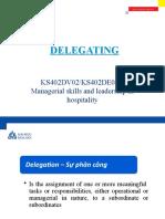 13B - Delegating